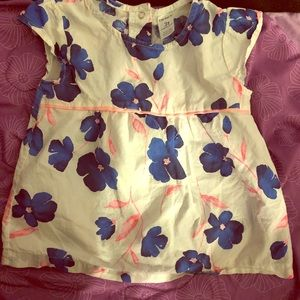 Carters floral top size 3T